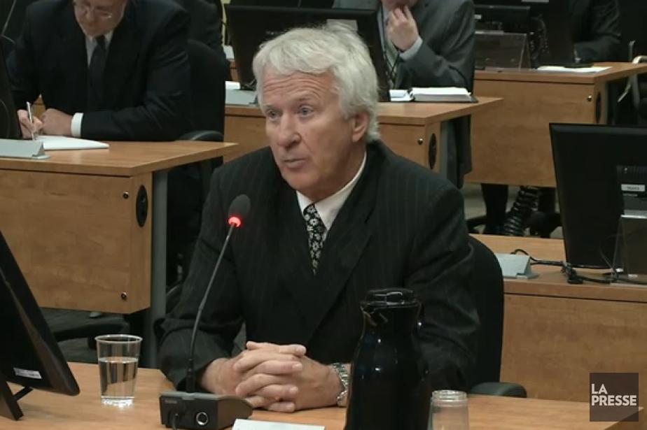 Gilles Théberge... (Image vidéo)