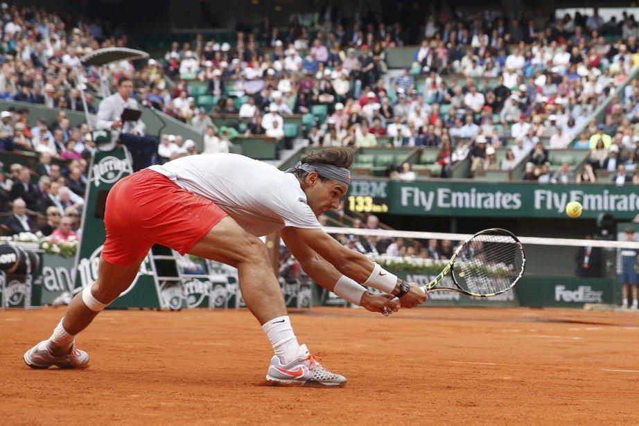 Rafael Nadal a perdu pour la première fois... (Photo Vincent Kessler, Reuters)