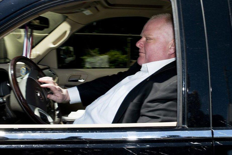 Rob Ford... (Photo La Presse Canadienne)