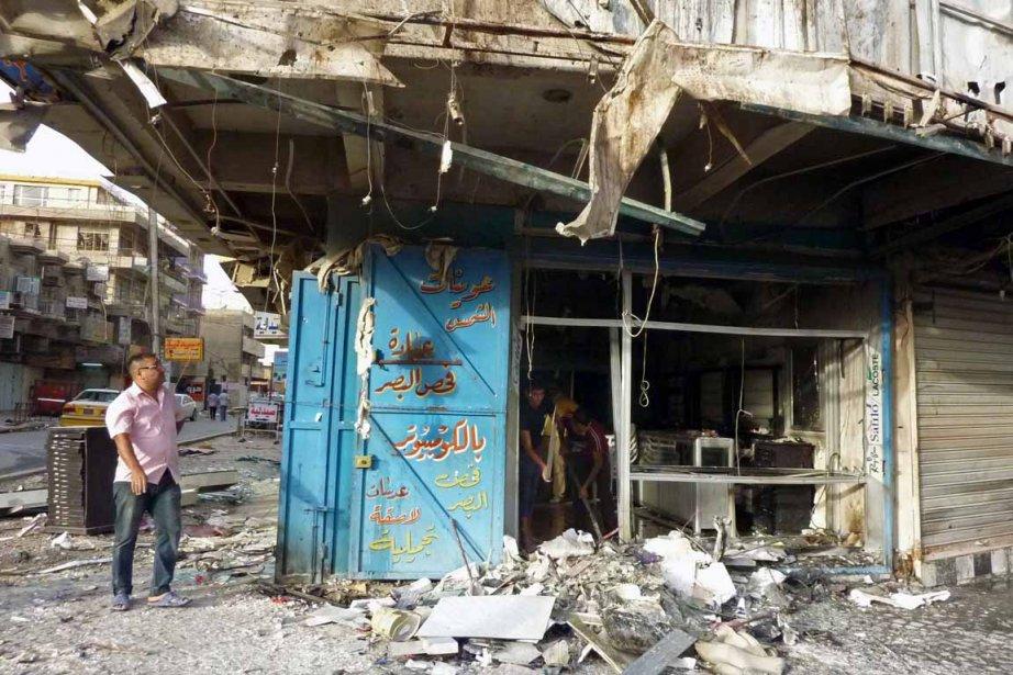 Au cours des deux dernières semaines seulement, plus... (Photo : Ali Al-Saadi, AFP)