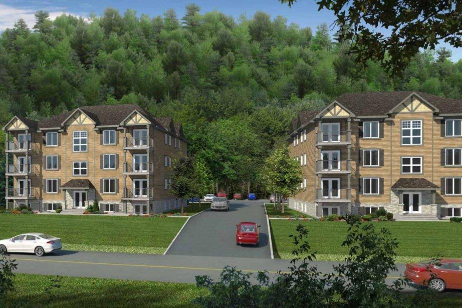 Très peu d'immeubles résidentiels de... (Illustration fournie par le Groupe GDI)
