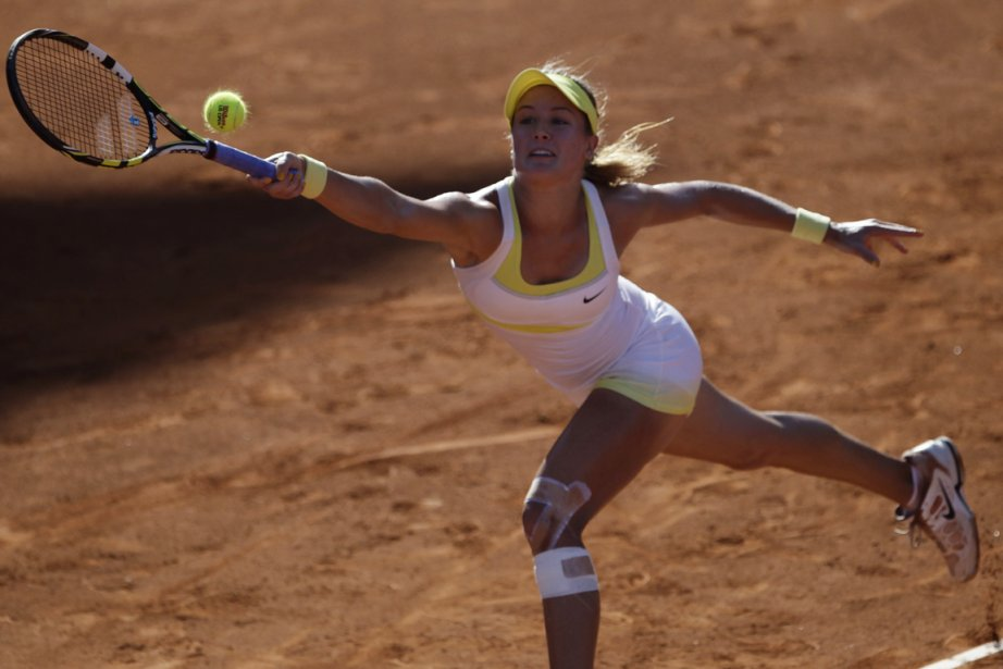Eugenie Bouchard... (Photo Henry Romero, Reuters)
