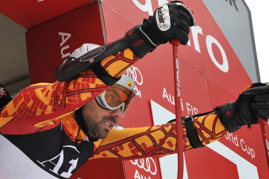 Ex-porte-couleurs de l'équipe canadienne de ski alpin, François... (Photo François Maroit, archives AFP)