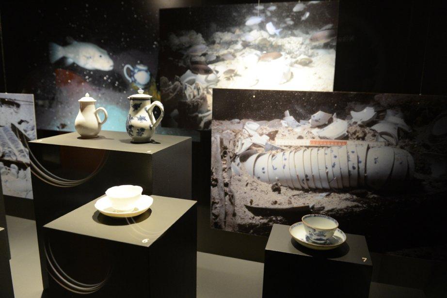 L'exposition, qui tient en une salle, est divisée... (Photo: fournie par le Musée Pointe-à-Callière)