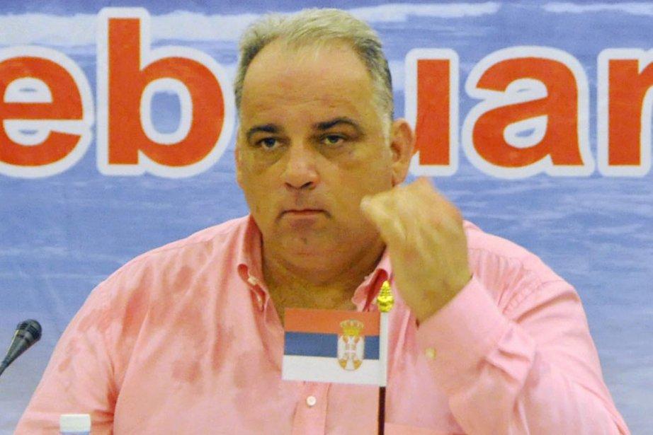 Le Serbe Nenad Lalovic est le nouveau président... (Photo AP)