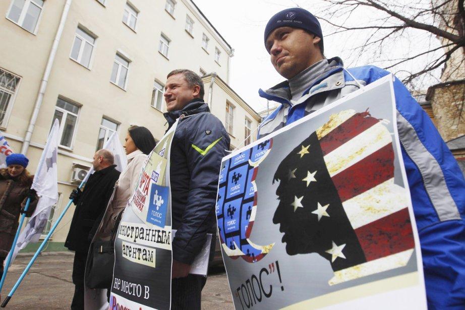 La Loi sur les «agents de l'étranger» s'ajoute... (PHOTO ARCHIVES REUTERS)