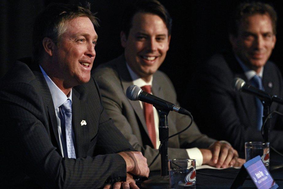 Le nouvel entraîneur-chef de l'Avalanche du Colorado, Patrick... (Photo Brennan Linsley, AP)