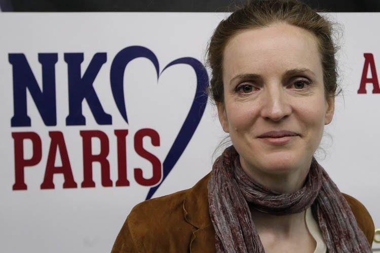 La favorite à la mairie parisienne, Nathalie Kosciusko-Morizet... (Photo: AP)