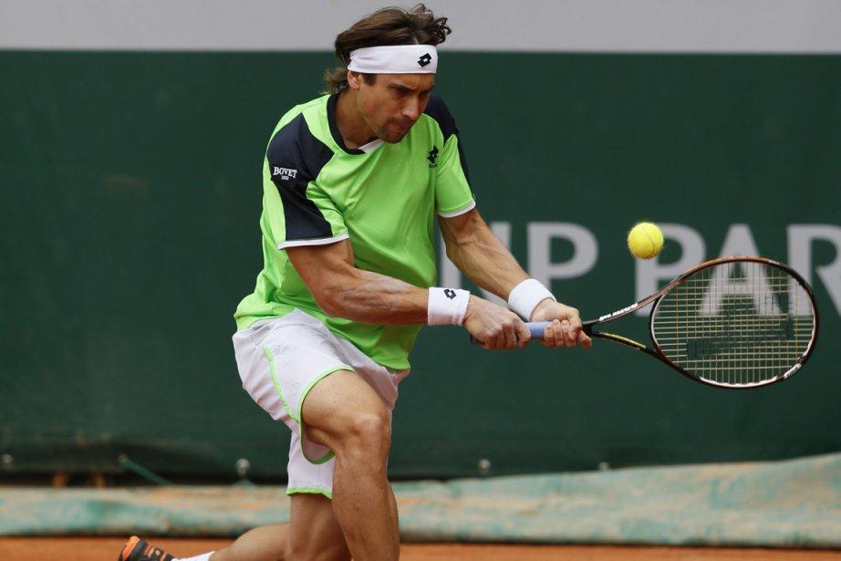 David Ferrer... (Photo Patrick Kovarik, Reuters)