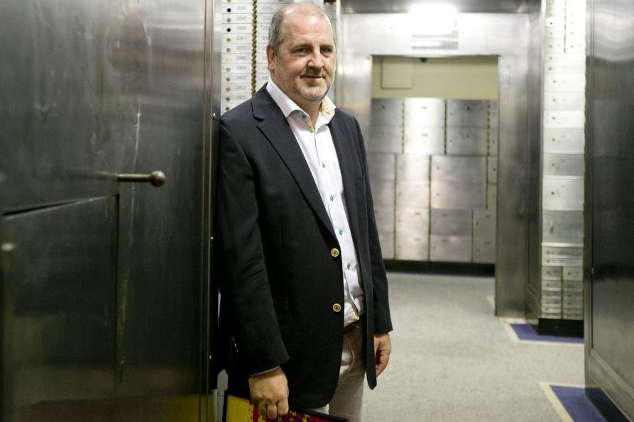 Luc Dionne, scénariste et réalisateur du film Omertà.... (Photo: Marco Campanozzi, La Presse)