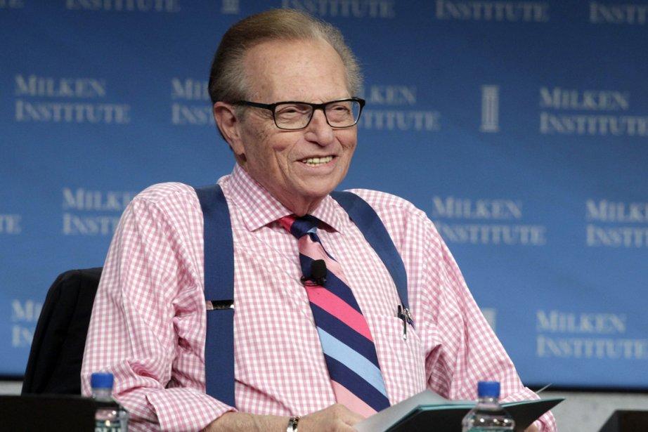 Le célèbre animateur américain Larry King.... (PHOTO FRED PROUSER, REUTERS)