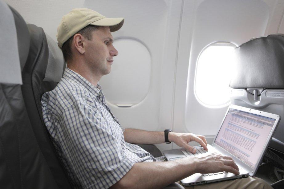 Le wi-fi à bord des appareils Air France...