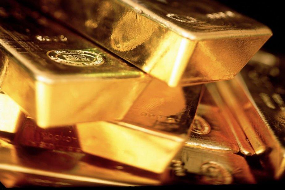 Le 6 septembre 2011, le prix de l'or atteignait 1921 $ US,... (PHOTO BLOOMBERG)