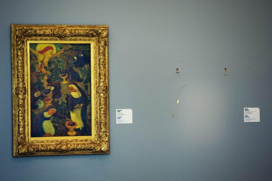 Dérobés en quelques minutes du musée Kunsthal de... (PHOTO : ROBIN UTRECHT, AFP)