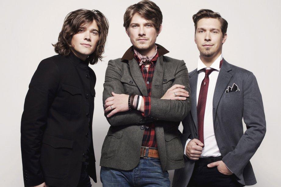 Le groupe Hanson... (Photo: La Presse Canadienne)