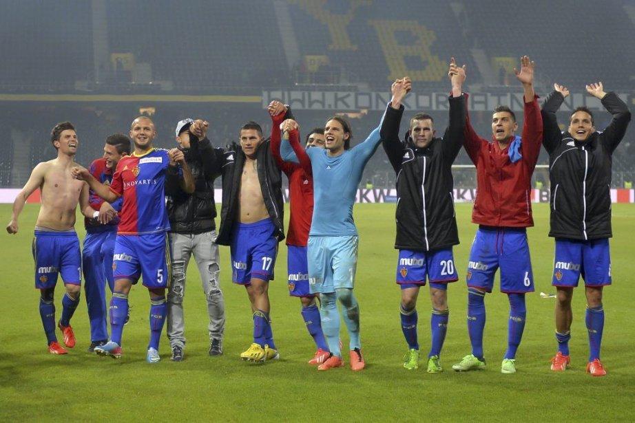 Si le FC Bâle a laissé échapper la... (Photo Fabrice Coffrini, Agence France-Presse)