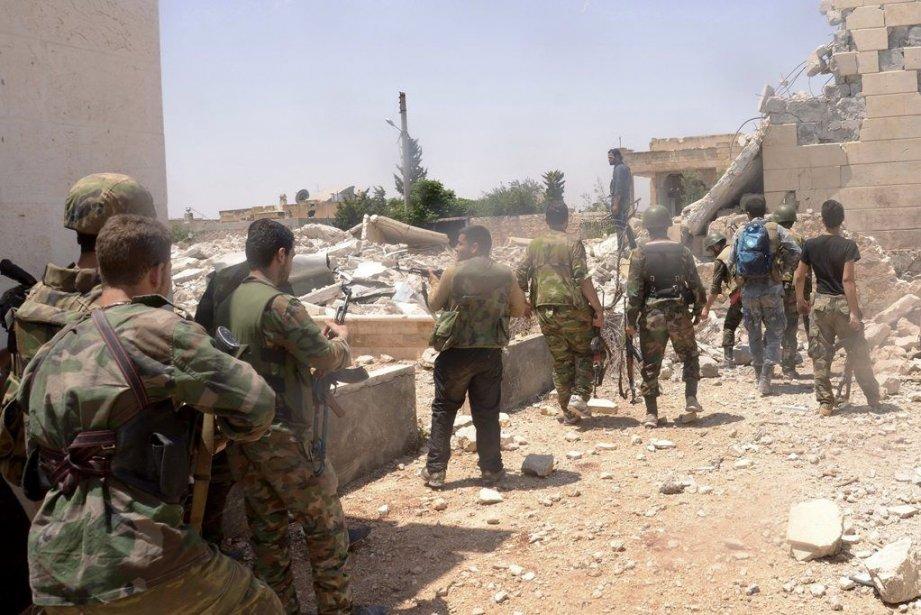 La guerre civile syrienne perdure, les espoirs placés... (PHOTO REUTERS, GEORGE OURFALIAN)