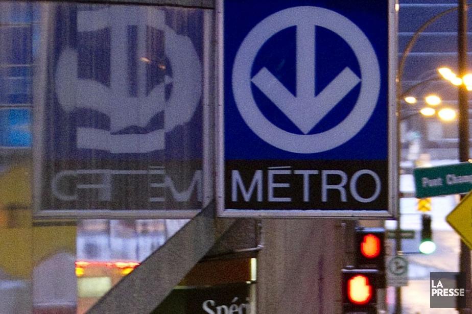 La STM rapporte la reprise du service sur la ligne... (Photo archives La Presse)