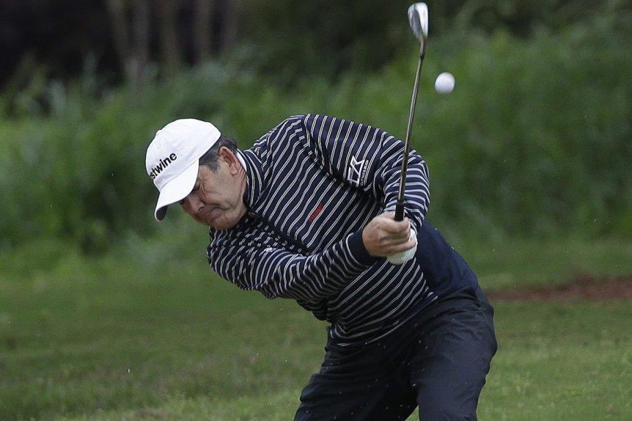 Le Sud-Africain David Frost a pris part aux... (Photo John Bazemore, Reuters)
