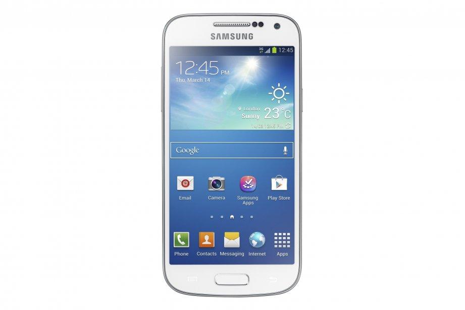 Le Samsung Galaxy S4 mini... (PHOTO FOURNIE PAR SAMSUNG)