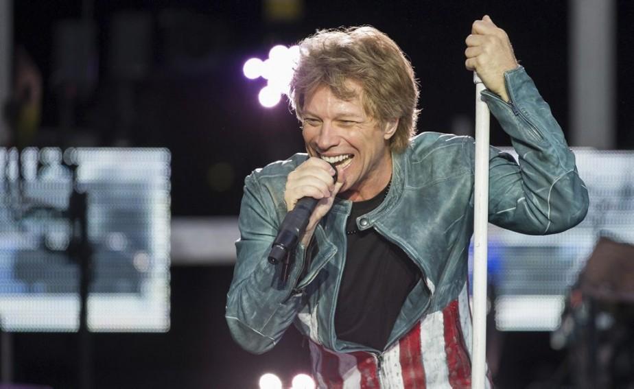 Jon Bon Jovi... (Photo: archives AP)