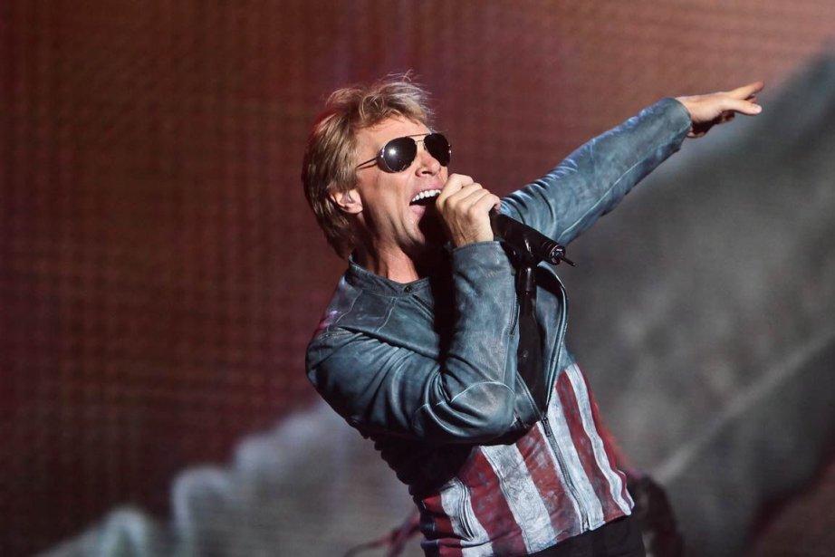 Bon Jovi en spectacle lors du 45e Festival... (PHOTO LA PRESSE CANADIENNE)