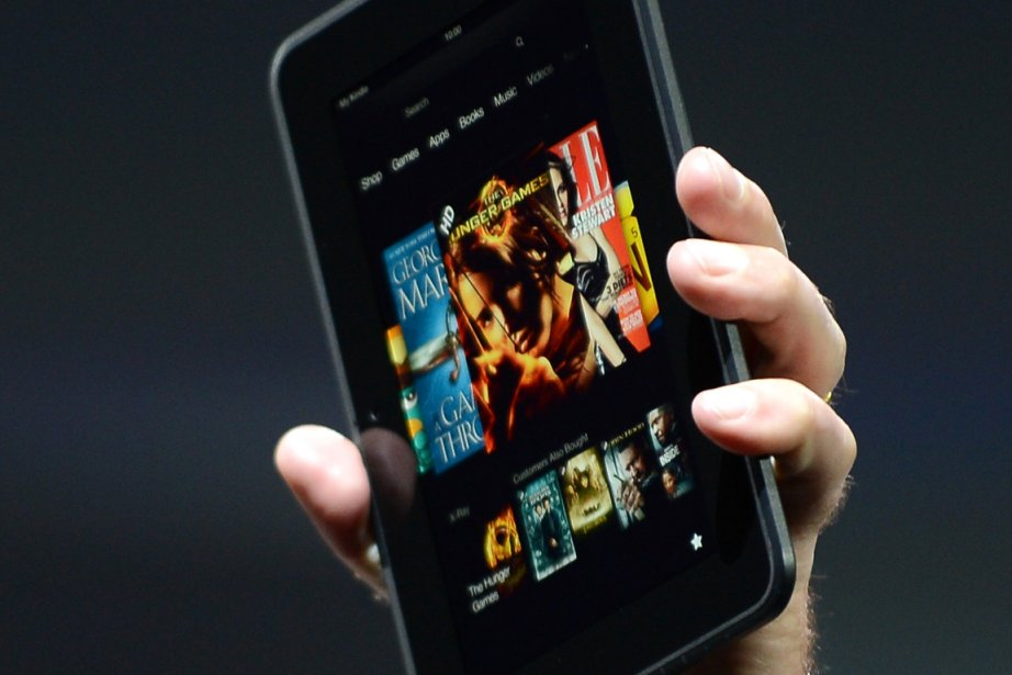La tablette Kindle Fire HD Family commercialisée par... (PHOTO JOE KLAMAR, AFP)