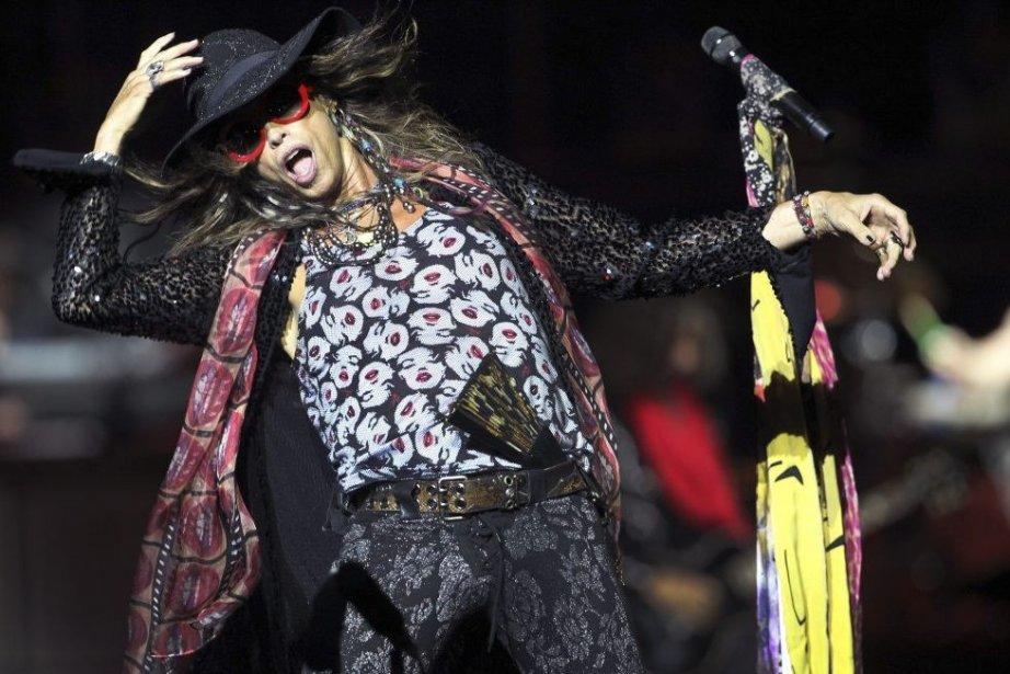 Steven Tyler, le chanteur d'Aerosmith.... (PHOTO WONG MAYE-E, AP)