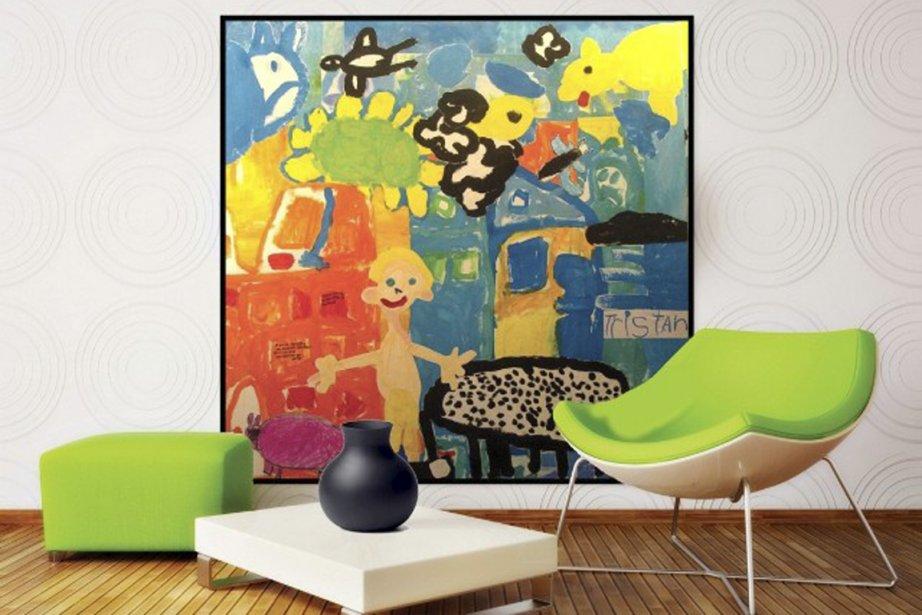 Les prix pour une oeuvre varient entre 400... (Photo fournie par Art Collage)
