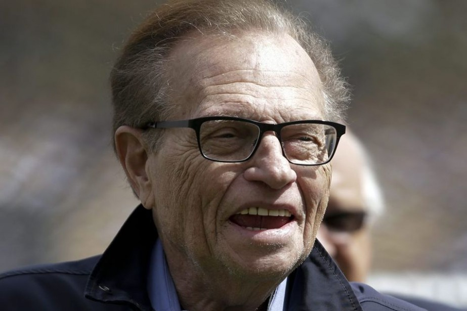Larry King.... (JAE C. HONG, AP)