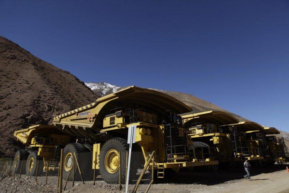 Le gisement Pascua Lama au Chili contiendrait des... (Photo Jorge Saenz, AP)