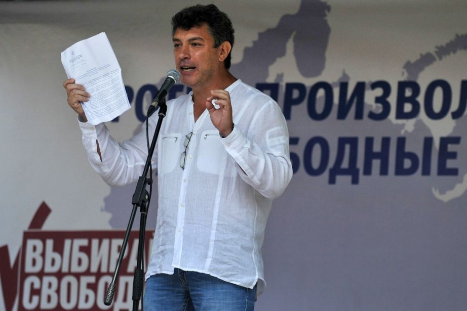 Boris Nemtsov... (Photo AFP)