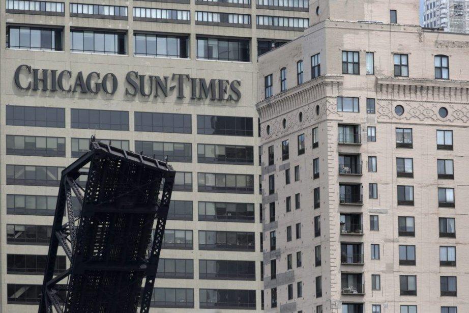 Le syndicat représentant les journalistes duSun-Times a réagi... (Photo M. Spencer Green, Associated Press)