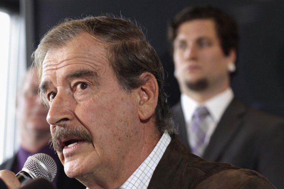 Vicente Fox... (Photo Marcus Donner, Reuters)