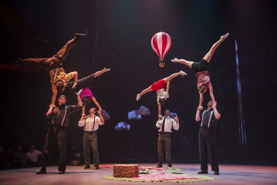 L'École nationale de cirque... (Photo: fournie par l'École nationale de cirque)