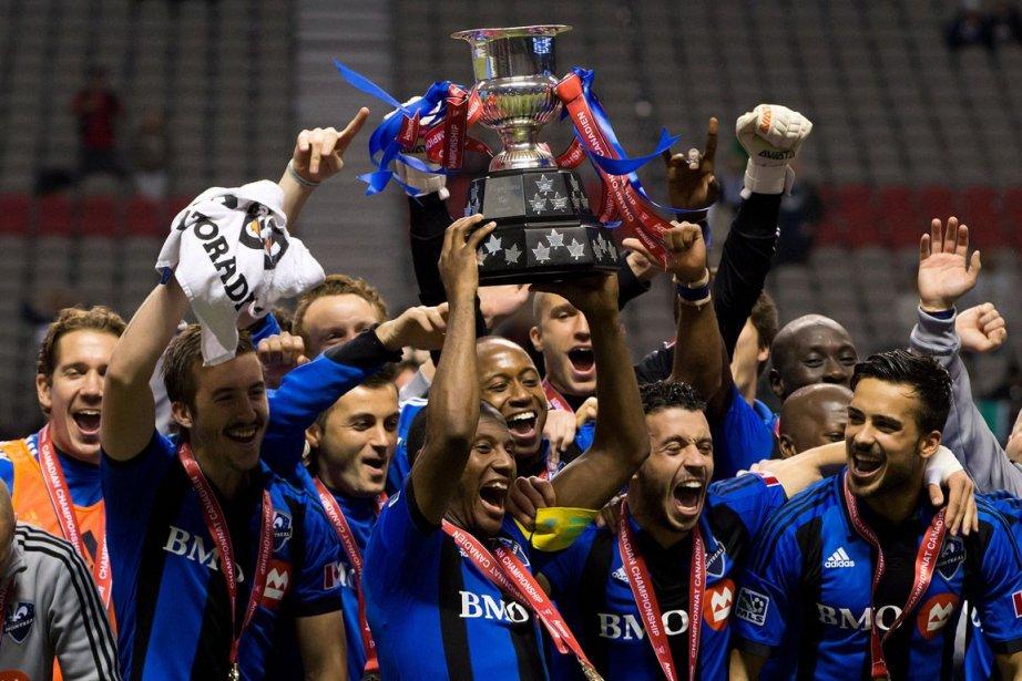 L'Impact a remporté sa place en Ligue des... (Photo : Darryl Dyck, PC)