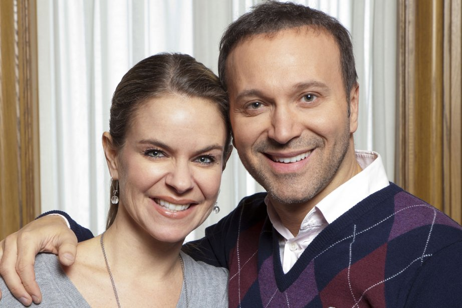 Annie Brocoli et Joël Legendre animent le Téléthon... (Photo: fournie par TVA)