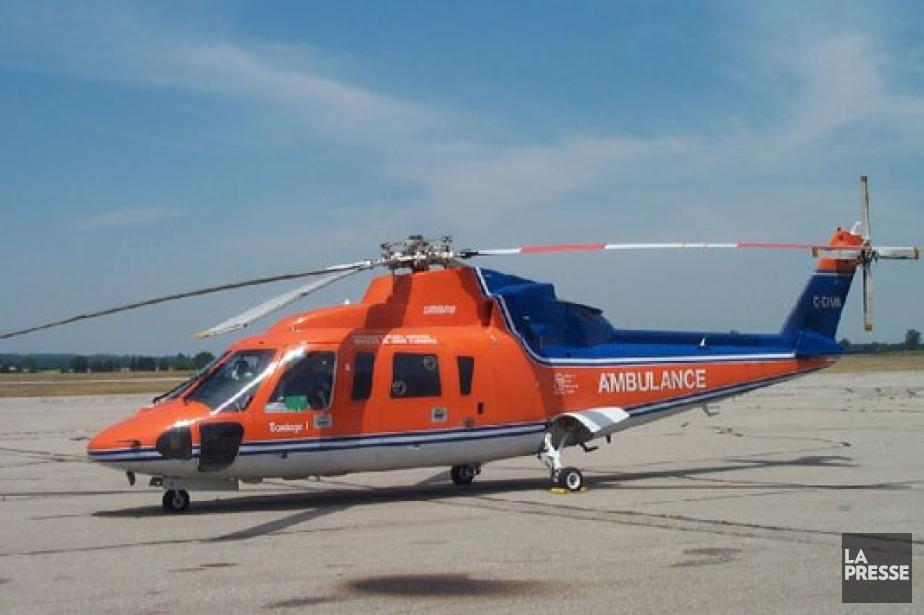 L'appareil Sikorsky S76 avait quitté sa base de... (PHOTO TIRÉE D'NTERNET)