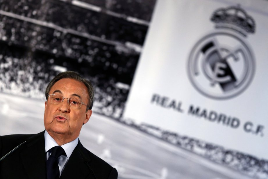 L'actuel président du Real Madrid, Florentino Perez.... (Photo : Sergio Perez, archives Reuters)