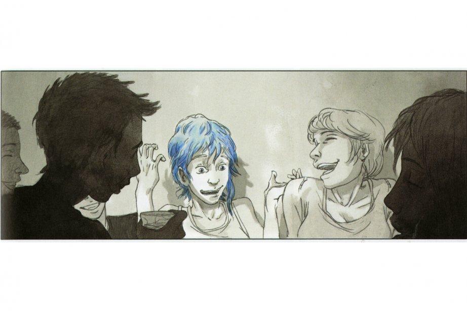 Le bleu est une couleur chaude : avant La vie d\'Adèle   BD et livres ...