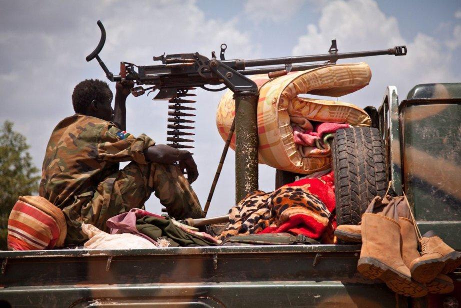 L'armée soudanaise est engagée depuis juin 2011 dans... (PHOTO ARCHIVES)