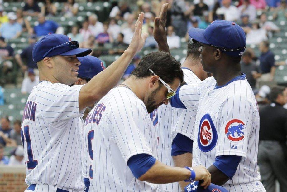 Les Cubs connaissent leur meilleure séquence de la... (PHOTO NAM Y. HUH, AP)