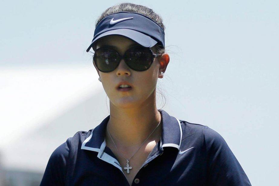L'Américaine Michelle Wie se trouve à deux coups... (PHOTO MEL EVANS, AP)