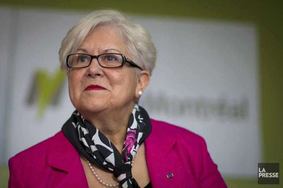 Louise Harel, chef de Vision Montréal.... (Photo: André Pichette, archives La Presse)