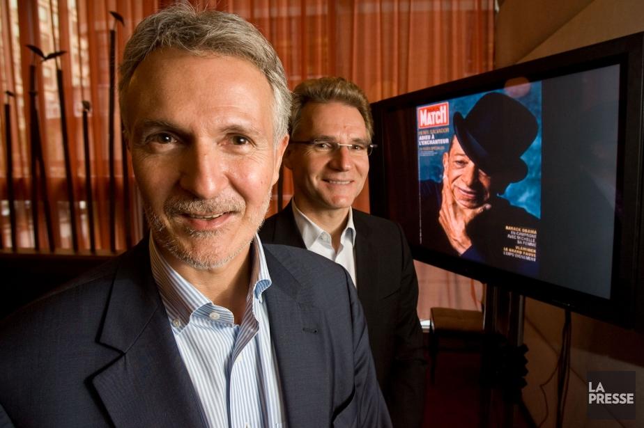 Olivier Royant, à gauche.... (Photo archives La Presse)