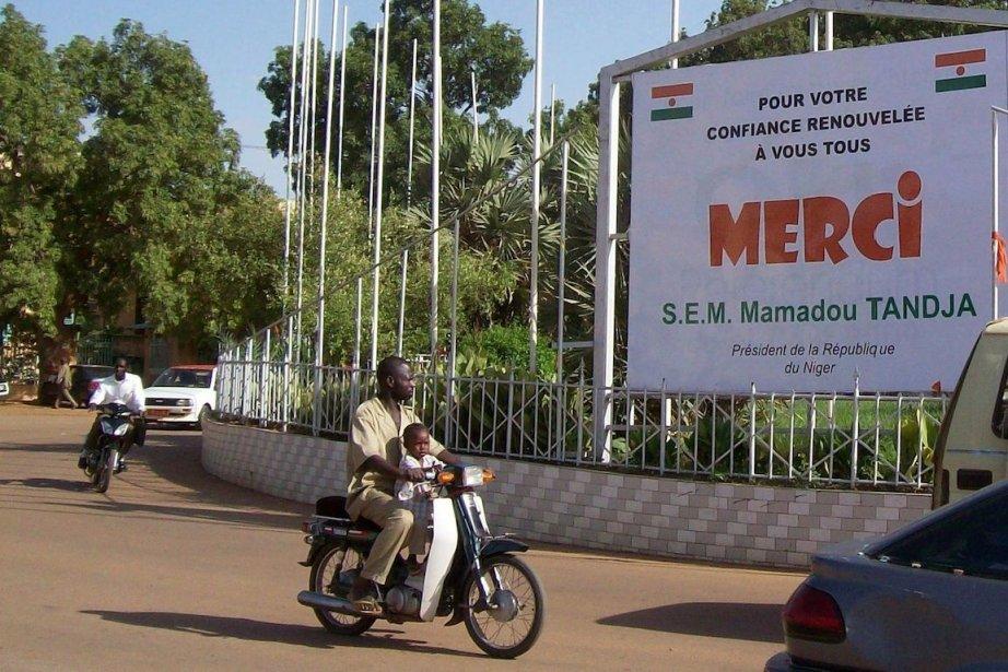 Niamey, la capitale du Niger.... (PHOTO AFP/STR)