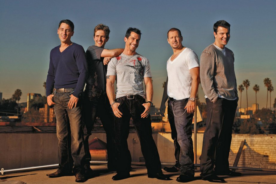 Les membres des New Kids on the Block,... (Photo fournie par Universal Music Canada)