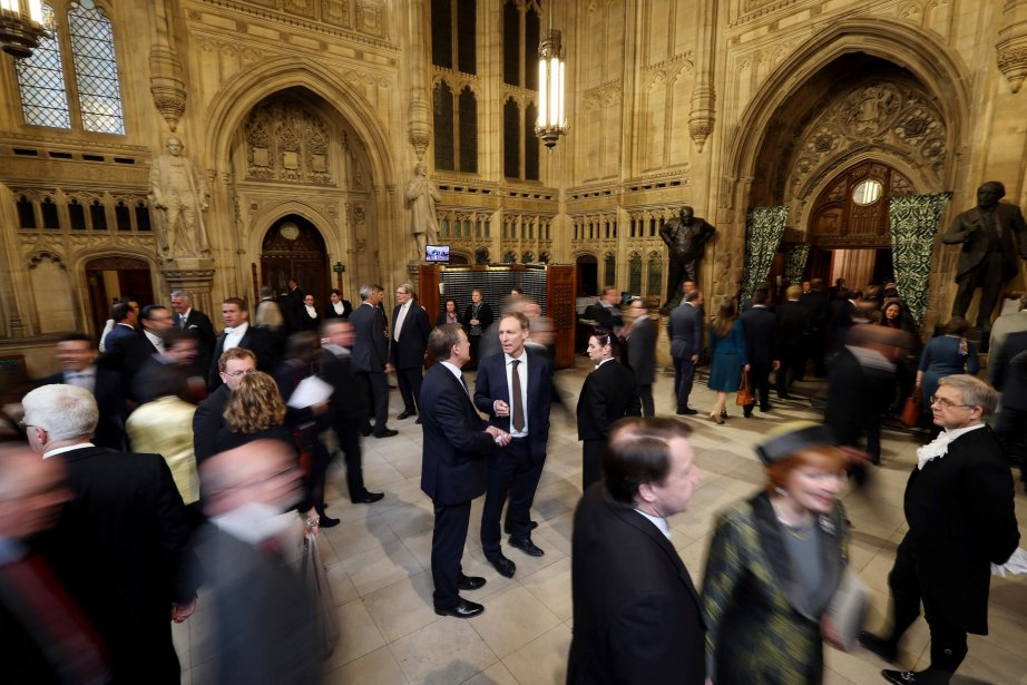 Plusieurs parlementaires britanniques étaient dimanche au... (PHOTO ARCHIVES AFP)
