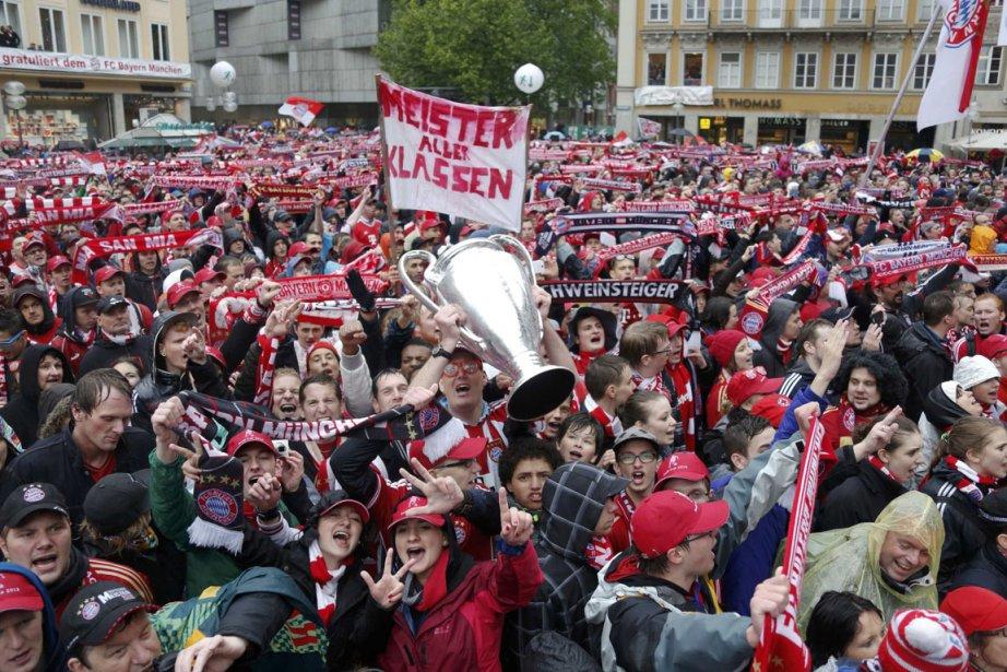 Le Bayern Munich a réalisé  cette saison... (Photo : Wolfgang Rattay, Reuters)
