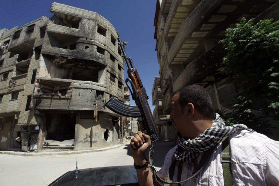 Peu d'images sont disponibles sur la situation à... (Photo Alaa Al-Marjani, Reuters)